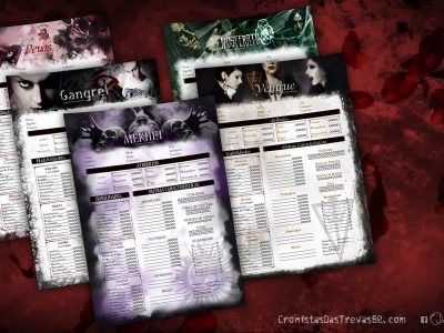 Fichas Personalizadas para Vampiro: O Réquiem 2e